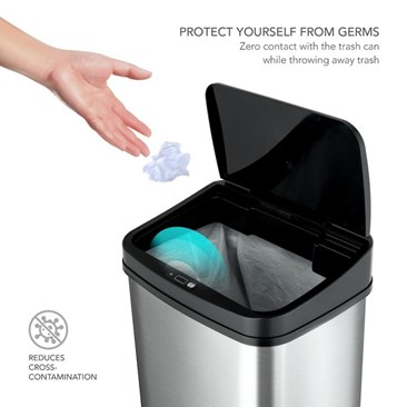 Zero Contact w/your trash can!