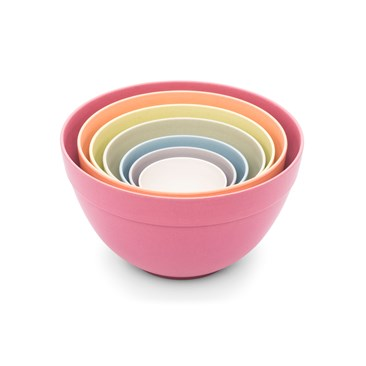 Bamboozle Seven Piece Pastel Nesting Bowls