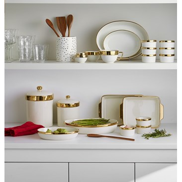 Gold Rim Bakeware