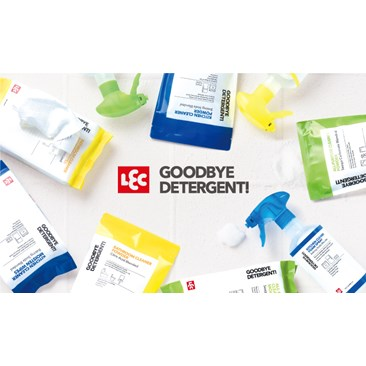 LEC GOODBYE DETERGENT! natural cleaning solutions