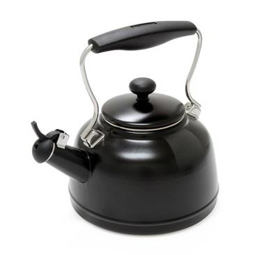 New: Vintage Teakettle in Matte Black