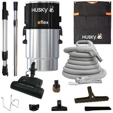Husky Flex Central Vacuum set