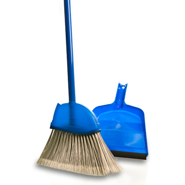 Small Angle broom with Dustpan