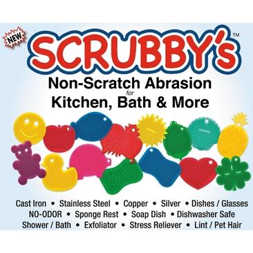 Scrubby's Slicone Scrubber