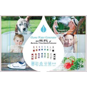 Title: Ozone water generator, kill 99.9% bacteria, virus
