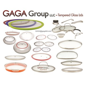 GAGA's Tempered Glass Lids