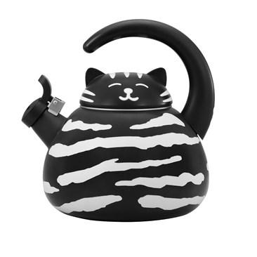 Black Cat Whistling Kettle