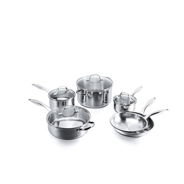 10pc Stainless Steel Set