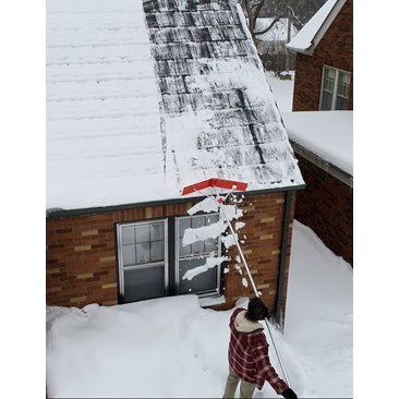 EZ Smart Snow Roof Rake