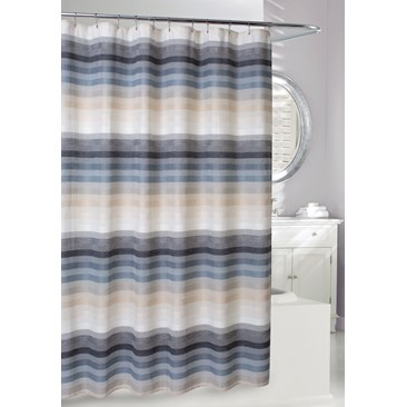 Landon Fabric Shower Curtain