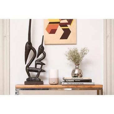 Sofia Nebulizer: Handmade ceramic and oak wood