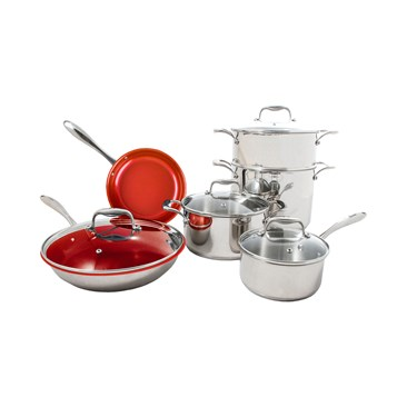 TuxtonHome Concentrix Cookware Cayenne