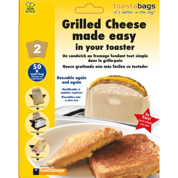 Grilled Cheese Made Easy toastabags