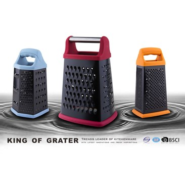 The grater with Non-stick coating