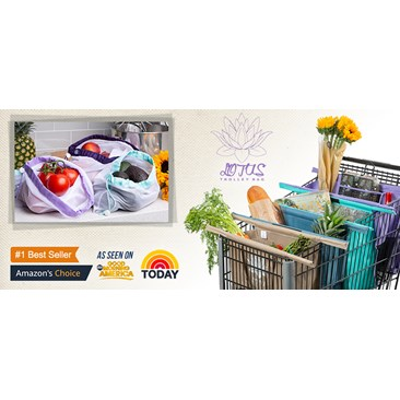 Lotus Trolley and Produce Bags