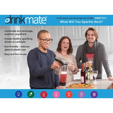 Drinkmate Spritzer - It's a BLAST!