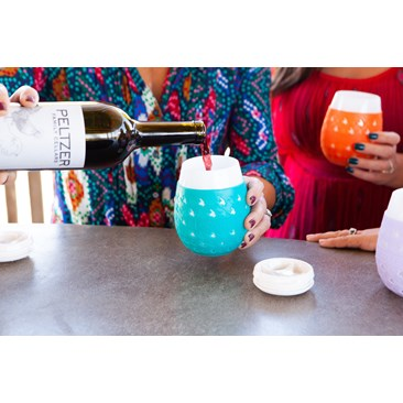 Modern To-Go Cups for Wine