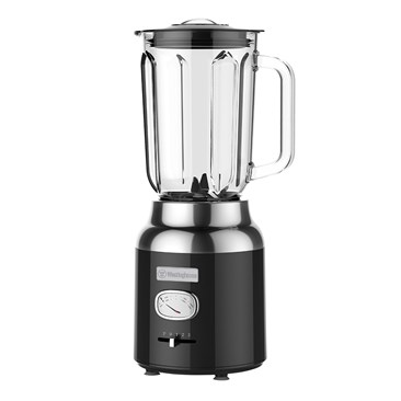 Retro Series Table Blender- Black