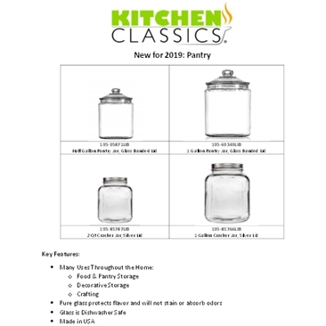 New! Pantry Jars