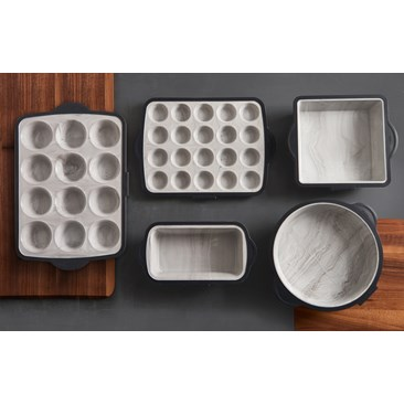 Marble Finish Silicone Pans