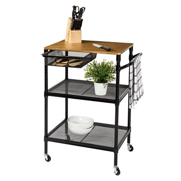 36-Inch Kitchen Storage Cart
