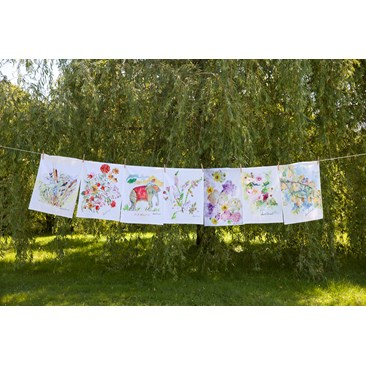 Watercolor Tea Towels