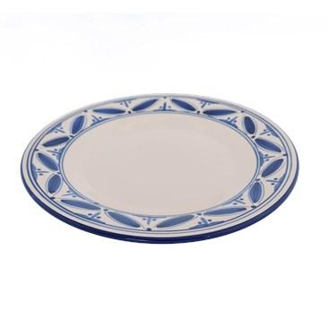 Blue Fez on Stoneware