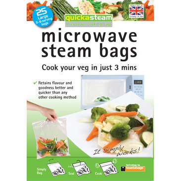 Microwave Crispy Bacon Sheets TOASTABAGS Pack of 5