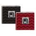 Chevron Embossed Frame Leatherette Photo Albums