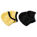 The Ear Cuffies™ are cloth ear covers that protect the ear from being burned by a curling iron or other heated styling tool.