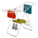 Honey-Can-Do offers a wide range of drying racks and laundry drying solutions for both indoor and outdoor.  This gullwing drying rack offers a large amount of drying space, special holders for drying shoes and easily folds for quick storage.