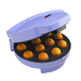 Makes 12 cake pops at a time. Includes paper treat sticks, cooling rack/display stand and more.