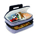 Our Entertainer hot & cold food casserole carrier is perfect for transporting casseroles and meals to pot luck dinners, tailgating, picnics, home and outdoor functions . The Entertainer can hold both hot and cold foods in the 2 expandable sections. The full thermal foil insulated lower section holds up to an 11