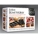 The Better Baker is a Reversible Edible Bowl Maker designed for your favorite recipes or you may create your own recipes. Use the reverse side to bake delicious mini muffins, tarts, small cakes and much more. The Better Baker is perfect for home parties, events, breakfast, lunch, appetizers, dinner, desserts, and snacks and believe it or not... makes 3 inch edible bowls. So fun!