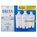 3 count filter replacements for use in all pour through and dispenser systems