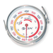 Gives grilling enthusiasts the advantage of knowing the exact temperature of their grilling surface.  Sits directly on any cooking surface, and features a color-coded scale that highlights target temperatures for grilling and searing perfection. Temperature range from 100°F to 800°F.