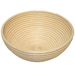 Supports the dough and prevents spreading during the final rise. Imparts a beautiful, flour-dusted, spiral pattern for a rustic appearance.