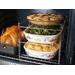 The Betty Crocker 3 Tier Oven Rack.  The most efficient way to use your oven.  Double your ovens capacity.