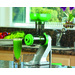 Z-Star is a portable hand crank juicer which clamps to most kitchen counter tops and park benches. Z-Star is a simple solution to creating fresh vegetable juices without electricity.