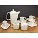 Culinary proware whiteware espresso set