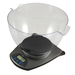 The HB-Series makes a great kitchen companion! The large 4L weighing bowl gives plenty of holding capacity to this sleek kitchen scale. The bowl is removable, so clean-up is a cinch!