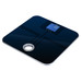 The MSL-180 body fat scale features a modern tempered glass platform with seamlessly integrated body fat sensors. The reverse backlit LCD displays not only body weight, but also body fat, bone mass, muscle, and body water. The additional data is calculated using BIA technology. A convenient carry handle allows you to easily carry the scale with you or store it on a wall hanger.