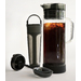 50 oz. Capacity Heat-proof, borosilicate glass   Removable Brew Core with stainless steel and easy-to-clean screw off bottom cap.Cold brewing produces a smooth, robust flavor with reduced acidity & bitterness Flavor Mixer™ rotates up and down to stir.Slip-resistant silicone foot.Dishwasher safe. My Bev Flavor Core System Compatible.