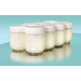 A yogurt lover's essential, the extra set of eight 6-oz. glass jars allows for making up to seven different types of yogurt at one time. No need to finish the first batch before starting another! Lids for glass jars provide storage in the refrigerator, and the glass jars are dishwasher safe. If you like to cook in quantity, these are a terrific addition to your yogurt making accessories. Use them to portion up individual servings you can easily take with you on the go.   To be used with Euro Cuisine yogurt maker.