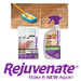 Rejuvenate® Tile & Grout Cleaners:  Safe & Scrub-Free Cleaning. Just spray and walk away and the enzymes go to work cleaning for you. Dingy grout becomes brighter & lighter with every use. Continues to clean long after you are done.   Renew old grout to it's bright clean original look or color over existing grout for a more stylish look.   Make your tile and grout new again with Rejuvenate®!