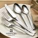 Hampton Forge's Signature collection pairs timeless dining solutions with the finest materials and craftsmanship. The uncompromising quality and styles of Signature flatware and cutlery sets offer limitless possibilities for everyday meals and hosting special occasions. Signature is at your service with the right utensils at the right time.