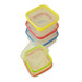 10 Piece Designer Square Food Storage Set
