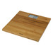 The 330ECO bathroom scale is part of our EcoWeigh line of scales which use natural and renewable materials. The large bamboo platform provides a unique and environmentally friendly weighing surface. Features a large, easy to read back-lit LCD display.