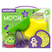 Kit Includes: Measuring Spoons, Space Monster Timer, Three Cookie Cutters, Two Silicone Cake Mold and Recipe. Packaged in a suitcase style box measuring 8