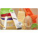 Garlic Slicer, Twin Juicer, Egg Scrambler, Mini Colander, Banana Slicer, Zester, Tea Ball. Many Made in the USA.